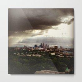 Minneapolis or heaven? Metal Print