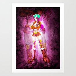 Jewelry Bonney Art Print