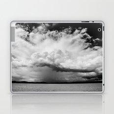 white clouds Laptop & iPad Skin