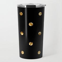 Black & Gold Travel Mug