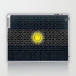 digital Flag (Argentina) Laptop & iPad Skin