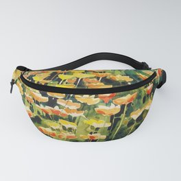 California Popies Fanny Pack
