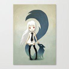 Fox Daemon Canvas Print