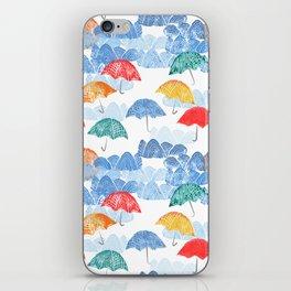 Umbrella Spring iPhone Skin