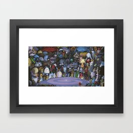 The God Particle Framed Art Print
