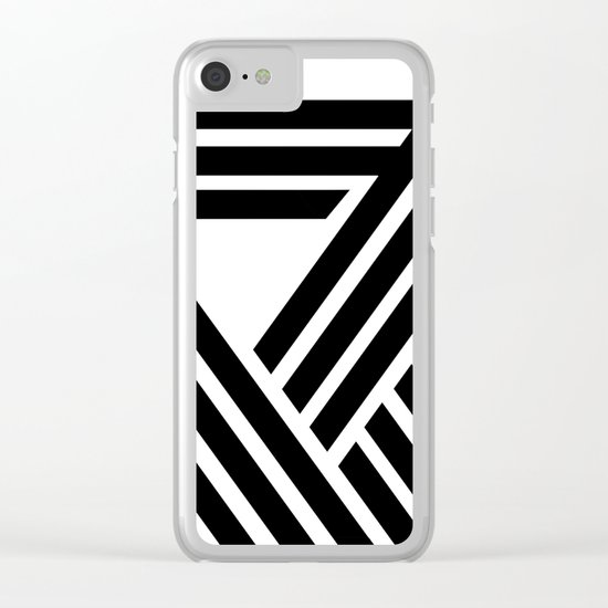 Hello VII Clear iPhone Case
