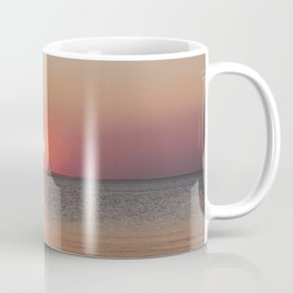Sailboat Sunset Coffee Mug