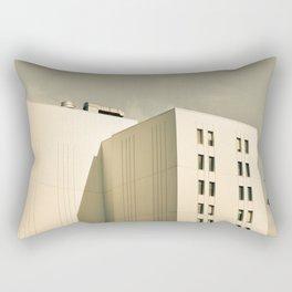 Modern Minimal Cityscape Rectangular Pillow