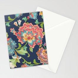 Chintz (blue) Stationery Cards