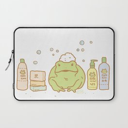 Shampooing Demonstration Laptop Sleeve