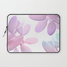 Unicorn Cacti Vibes #1 #pastel #pattern #decor #art #society6 Laptop Sleeve