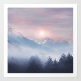 Pastel vibes 11 Art Print