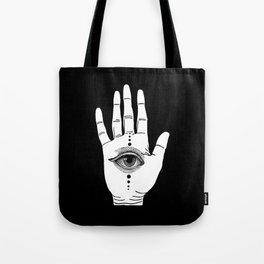 Hamsa Horus Tote Bag
