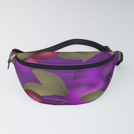 Fruit market . Plum and cherry . Fanny Pack