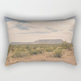 Down Desert Roads II Rectangular Pillow