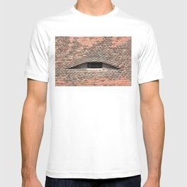 sibiu city romania traditional architecture detail roof tile eye T-shirt