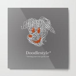 Doodlestyle Metal Print