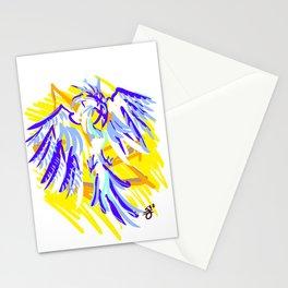 Blue Phoenix Stationery Cards