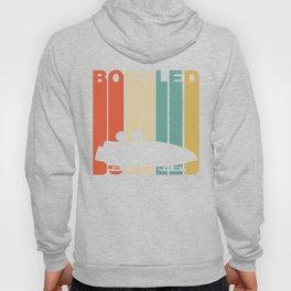 Retro Style Bobsled Bobsledding Winter Hoody