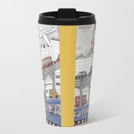 Taking the Red Line Travel Mug