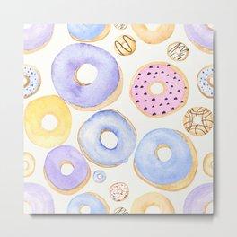 Donut Patterns Metal Print