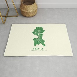 Seattle Map Rug