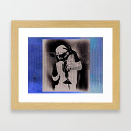 Joss Framed Art Print
