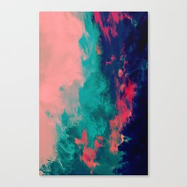 Painted Clouds IV Canvas Print