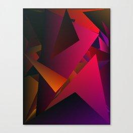 Smoke Screen Abstract 7 Canvas Print