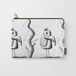 Hypno-Parrot Carry-All Pouch