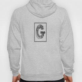 Zentangle G Monogram Alphabet Initials Hoody