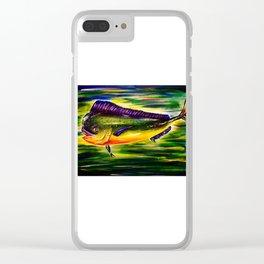 Mahi Mahi Clear iPhone Case