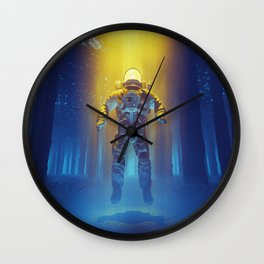 Forest Flux Wall Clock