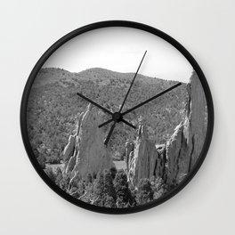 Garden of the Gods 7 Wall Clock