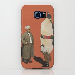 Man and Penguin   iPhone Case