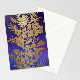 Golde Lace in the Night Sky Stationery Cards