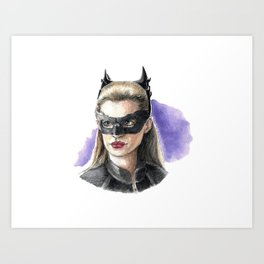 Selina Kyle Art Print