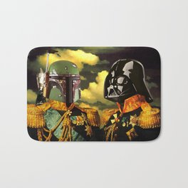 Portrait of Boba Fett & Lord Vader Bath Mat