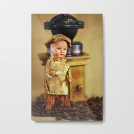 Coffee man 4 Metal Print