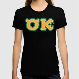 Monster University Fraternity : Oozma Kappa T-shirt