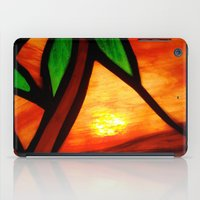 west coast iPad Cases featuring West Coast Sunset by Jerel Cardona