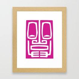 Tiki Mod 01 Framed Art Print