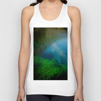 underwater Tank Tops featuring underwater by habish