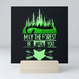 May The Forest Mini Art Print