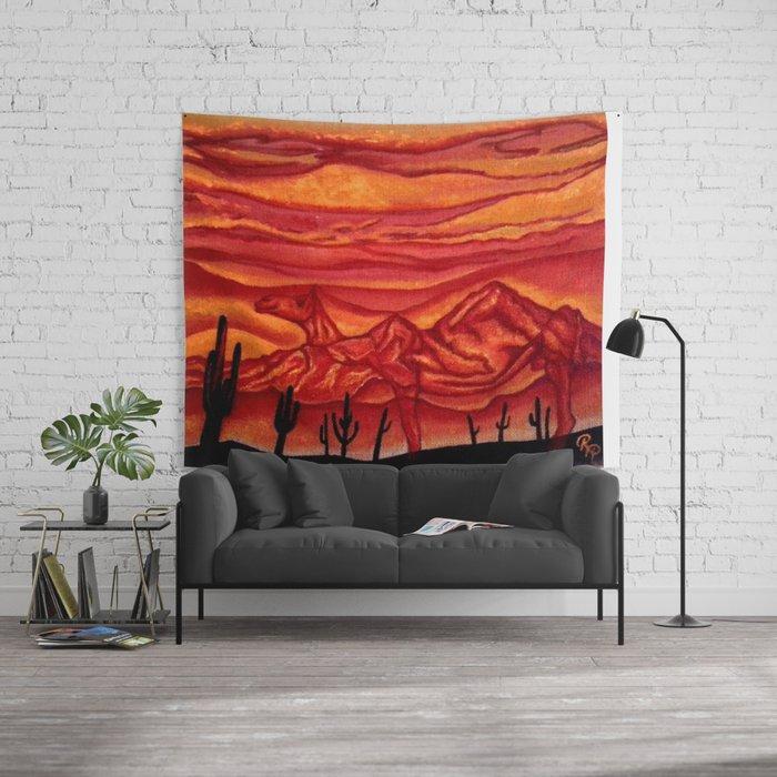 Camelback Mountain Phoenix, AZ Wall Tapestry