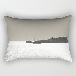 Silver harbor Rectangular Pillow