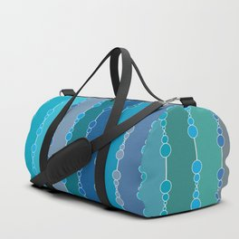 Multi-faceted decorative lines 7 Duffle Bag
