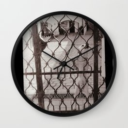 Can't lock up a free soul Wall Clock