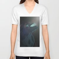 pacific rim V-neck T-shirts featuring Kaiju from Pacific Rim by Thecansone