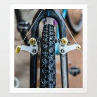 brakes Art Print